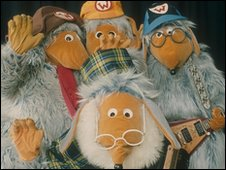 Wombles on Top of the Pops in 1974/5