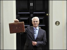 Alistair Darling, UK Chancellor