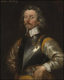 painting of Lord Jacob Astley