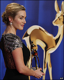 Kate Winslet at the Bambi Awards