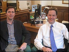 Richard Reeves and Nick Clegg