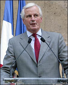 Michel Barnier - new EU Internal Market Commissioner