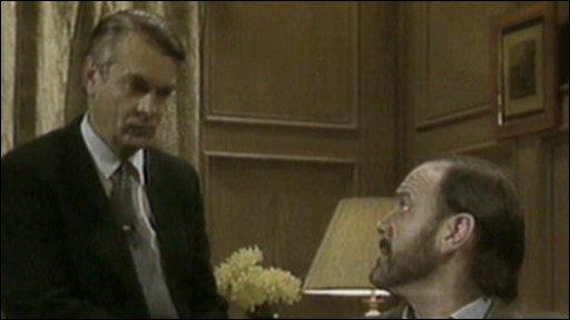 David Owen and John Cleese