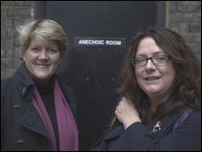 Clare Balding and Professor Sophie Scott