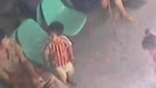 A child is lured before being stolen