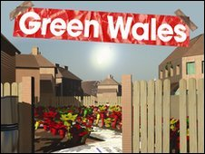 Green Wales season logo