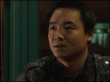 Le Le's father Peng Gaofeng