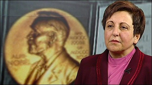 Shirin Ebadi says she has been threatened by the Iranian authorities and her sister told to move out of her home.