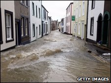 Floods in Cockermouth, Cumbria
