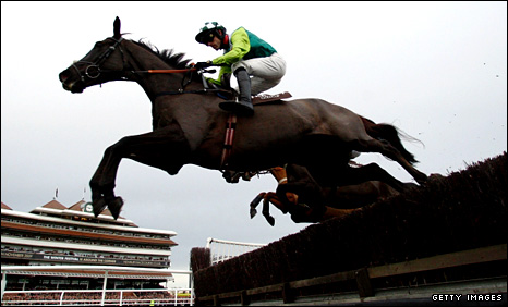 Ruby Walsh on Denman at Newbury