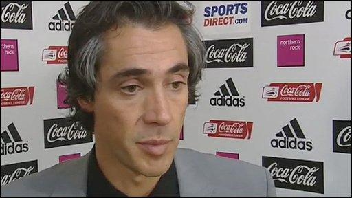 Swansea boss Paulo Sousa