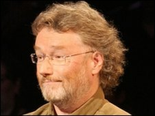 Iain Banks on Celebrity Mastermind in 2005