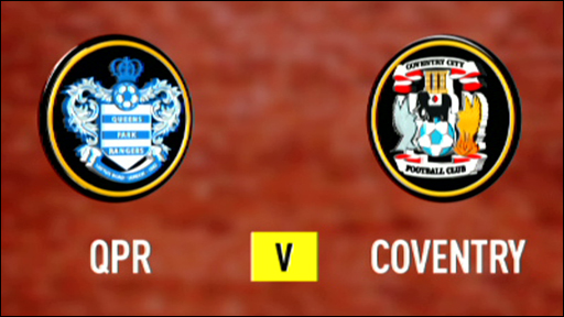 QPR 2-2 Coventry