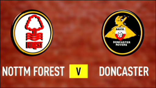 Nottingham Forest 4-1 Doncaster