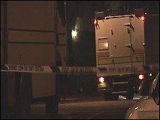 Scene of alert in east Belfast