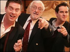 Dick and Dom with Bernard Cribbens
