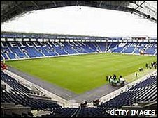 Leicester City's Walkers Stadium