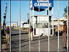 Union Carbide factory