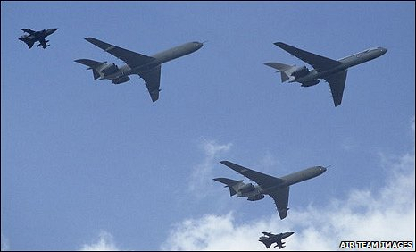 VC10s, photo: Air Team Images