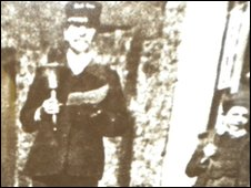 Derrick Price's grandfather (left) and father (right)