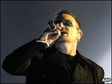 Bono in Berlin