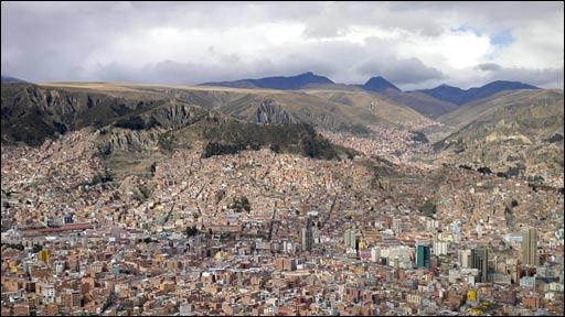 La Paz, Bolivia (Dominic Hurst)