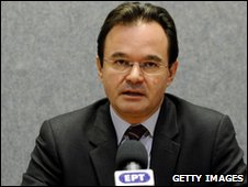 George Papaconstantinou, Greece's finance minister