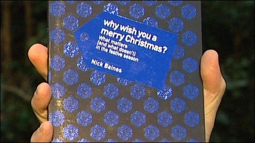 """Front cover of Rev Nick Baines """"Why Wish You a Merry Christmas?"""""""
