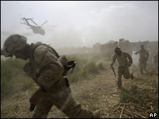 Foreign troops in Helmand