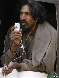 India mobile user