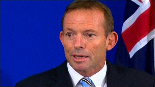 Liberal Party leader Tony Abbott