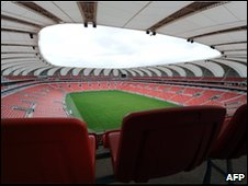 Nelson Mandela Bay Stadium in Port Elizabeth
