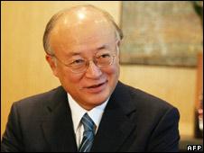 Yuikya Amano Director General of the IAEA