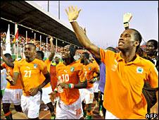 Didier Drogba's Ivory Coast