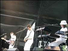 It Bites playing at Whitehaven in 2008