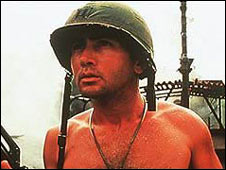 Martin Sheen in Apocalypse Now, named the best movie of the last 30 years by the London Film Critics' Circle
