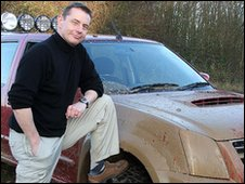 Jeff Cuttell and his off-road 4x4