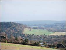 View from the Hogs Back