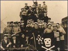 HMS Trident crew