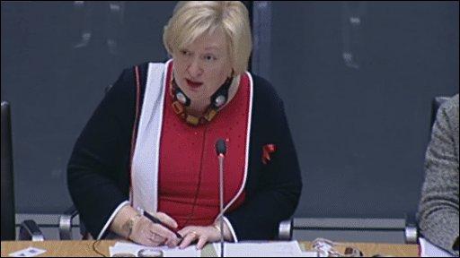 Health Minister Edwina Hart AM