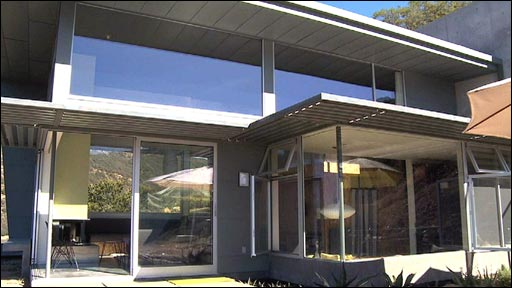 'Fire-proof' house in California