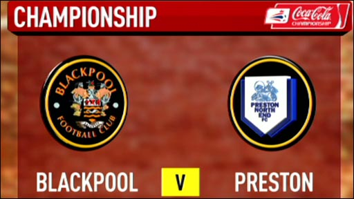 Blackpool 1-1 Preston
