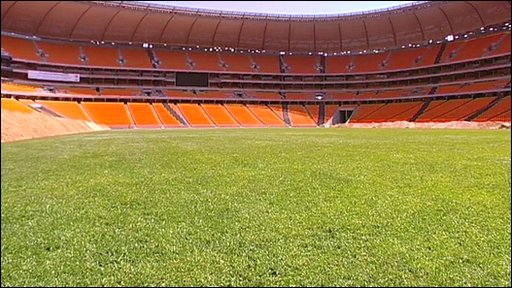Soccer City Stadium for 2010 World Cup
