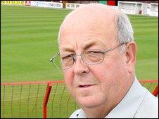 Glentoran chairman Aubry Ralph