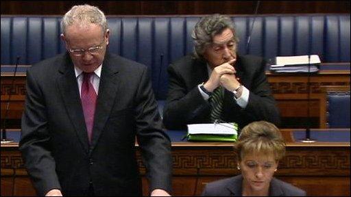 Deputy First Minister Martin McGuinness