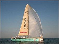 Team Pindar yacht