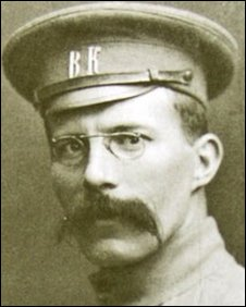 Arthur Ransome in his youth