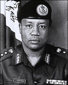Nigerian former military leader gen Ibrahim Babangida