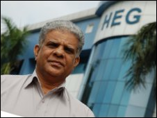HEG chief operating officer Jacob Mani