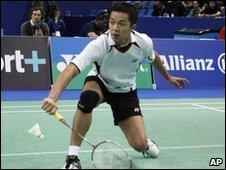 Badminton player Taufik Hidayat